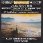 Sibelius: Symphony No. 5 (Original 1915 Version); En Saga (Original 1892 Version)