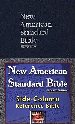 Side Column Reference Bible Nasb Large Print Book By