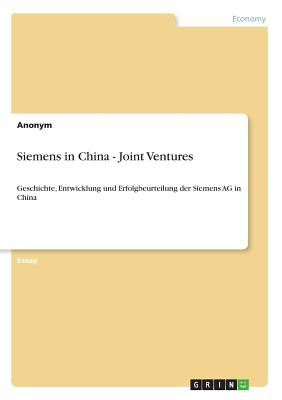 Siemens in China - Joint Ventures - Anonym