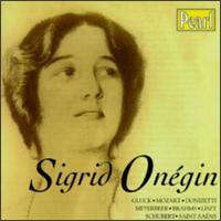 Sigrid Onegin - Clemens Schmalstich (piano); Franz Dorfmueller (piano); Franz Huebsch (piano); Franz Rupp (piano); Sigrid Onegin (contralto); Leo Blech (conductor)