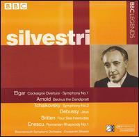 Silvestri Conducts Elgar, Arnold, Tchaikovsky, Debussy, Enescu - Bournemouth Symphony Orchestra; Constantin Silvestri (conductor)