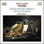 Silvius Leopold Weiss: Sonatas for Lute, Vol. 4