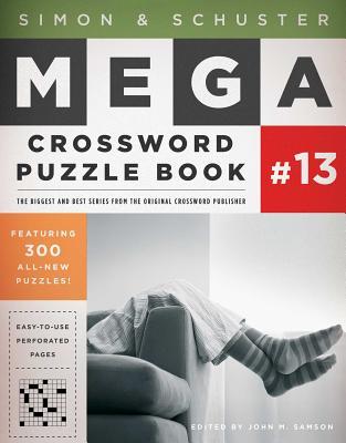 Simon & Schuster Mega Crossword Puzzle Book Series 13 - Samson, John M