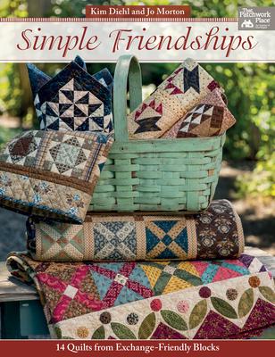 Simple Friendships: 14 Quilts from Exchange-Friendly Blocks - Diehl, Kim