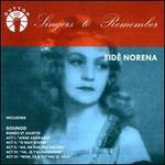 Singers to Remember: Eidé Norena