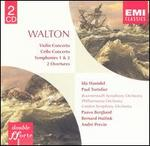 Sir William Walton: Violin Concerto; Cello Concerto; Symphonies 1 & 2; 2 Overtures