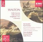 Sir William Walton: Violin Concerto; Cello Concerto; Symphonies 1 & 2; 2 Overtures