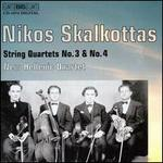 Skalkottas: String Quartets 3 & 4