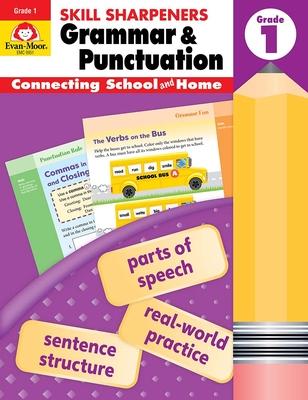 Skill Sharpeners Grammar and Punctuation, Grade 1 - Evan-Moor