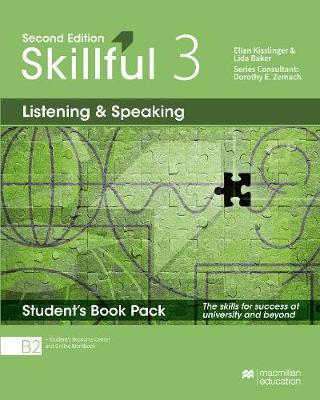 Skillful Second Edition Level 3 Listening and Speaking Premium Student's Pack - Kisslinger, Ellen, and Baker, Lida
