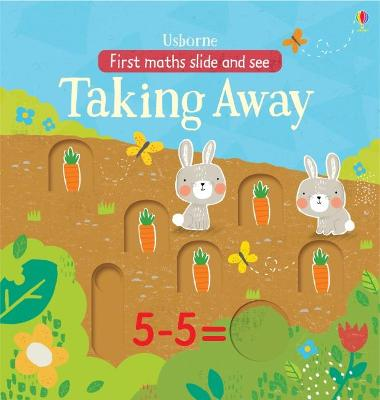 Slide and See Taking Away in the Garden - Watson, Hannah, and Willmore, Alex (Illustrator)