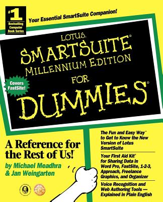 SmartSuite Millennium Edition For Dummies - Weingarten, Jan, and Meadhra, Michael