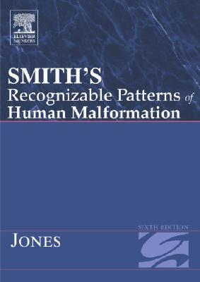 Smith's Recognizable Patterns of Human Malformation - Jones, Kenneth Lyons