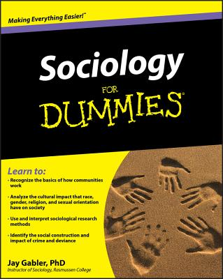 Sociology for Dummies - Gabler, Jay