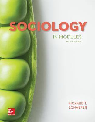 Sociology in modules book by richard t schaefer 6 available sociology in modules schaefer richard t fandeluxe Gallery