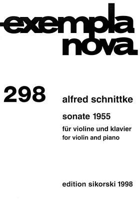 Sonata 1955: Violin and Piano - Schnittke, Alfred (Composer)