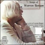 Songs of Warren Benson