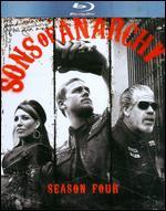 Sons of Anarchy: Season 4 [3 Discs] [Blu-ray] -