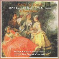 Sons of Bach: Concertos - English Consort; Trevor Pinnock (harpsichord); Trevor Pinnock (conductor)