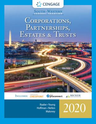 South-Western Federal Taxation 2020: Corporations, Partnerships, Estates and Trusts (with Intuit Proconnect Tax Online & RIA Checkpoint, 1 Term (6 Months) Printed Access Card) - Raabe, William A, and Young, James C, and Hoffman, William H