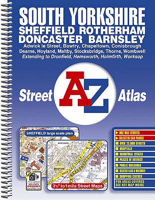 South Yorkshire Street Atlas - Geographers' A-Z Map Company (Illustrator)