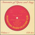 Souvenirs of Opera & Song, Volume 1
