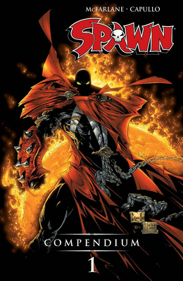 Spawn Compendium, Color Edition, Volume 1 - McFarlane, Todd (Artist), and Moore, Alan, and Morrison, Grant