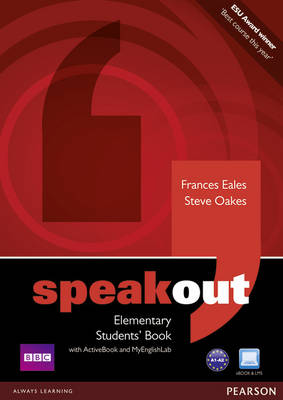 Speakout Elementary Students' Book with DVD/Active Book and MyLab Pack - Eales, Frances, and Oakes, Steve
