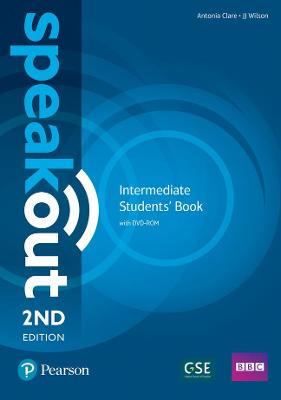 Speakout Intermediate 2nd Edition Students' Book and DVD-ROM Pack - Clare, Antonia, and Wilson, J. J.