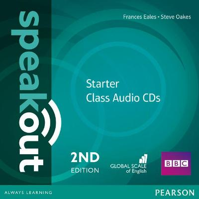 Speakout Starter 2nd Edition Class CDs (2) - Eales, Frances, and Wilson, J. J.