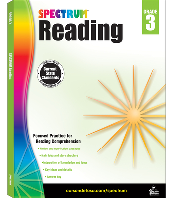 Spectrum Reading Workbook, Grade 3 - Spectrum (Compiled by)
