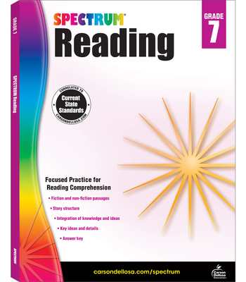 Spectrum Reading Workbook, Grade 7 - Spectrum (Compiled by)