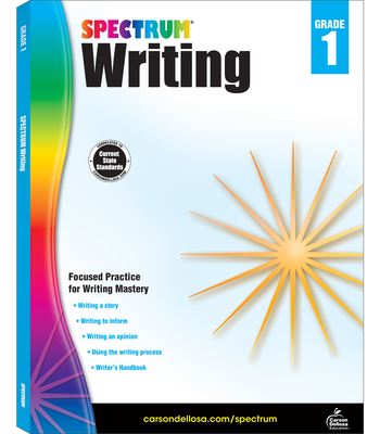 Spectrum Writing, Grade 1 - Spectrum (Compiled by)