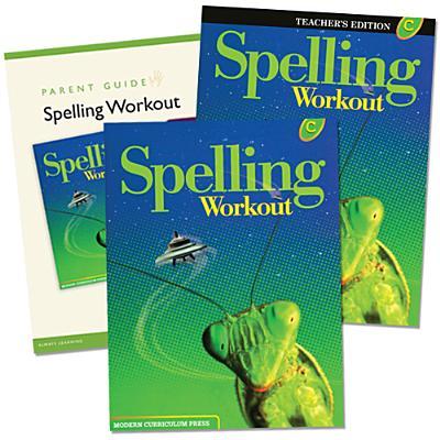 Spelling Workout Homeschool Bundle, Level C - Modern Curriculum Press (Creator)