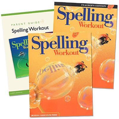 Spelling Workout Homeschool Bundle, Level D - Modern Curriculum Press (Creator)