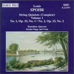 Spohr: String Quintets, Vol.1