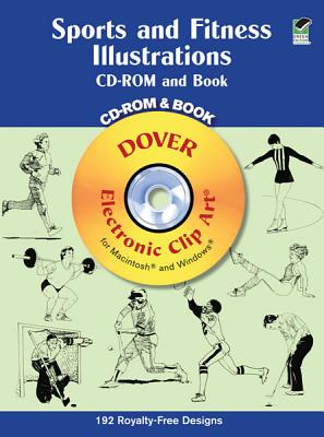 Sports and Fitness Illustrations Book and CD-ROM - Dover Publications Inc
