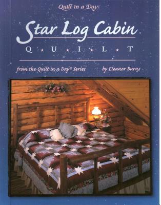 Star Log Cabin Quilt - Burns, Eleanor