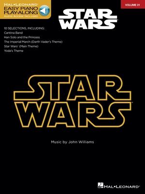 Star Wars: Easy Piano Play-Along Volume 31 - Williams, John, Professor (Composer)