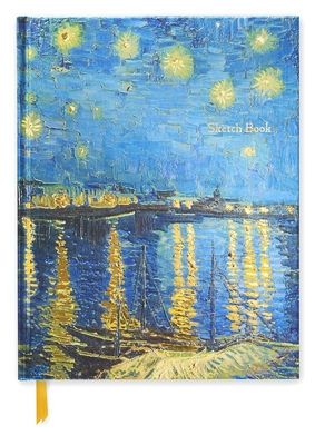 Starry Night (Blank Sketch Book) -