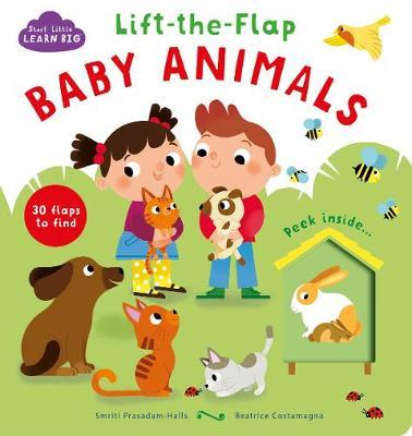 Start Little Learn Big Lift-the-Flap Baby Animals - Prasadam-Halls, Smriti