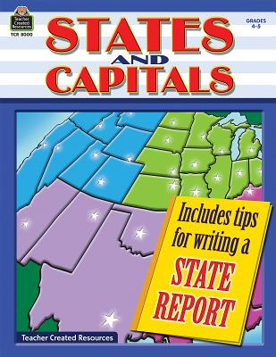 States and Capitals, Grades 4-5 - Foster, Ruth