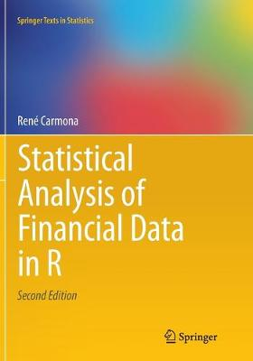Statistical Analysis of Financial Data in R - Carmona, Rene