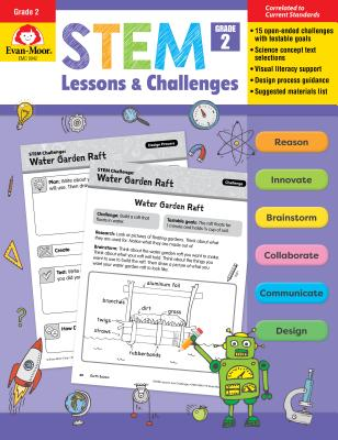 Stem Lessons and Challenges, Grade 2 - Evan-Moor