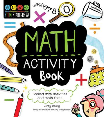 Stem Starters for Kids Math Activity Book - Jacoby, Jenny