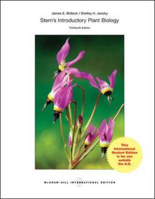 Stern's Introductory Plant Biology - Bidlack, James E., and Jansky, Shelley, and Stern, Kingsley R.
