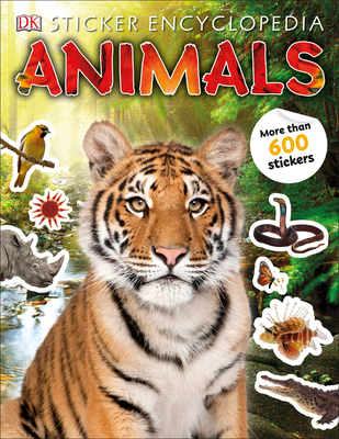Sticker Encyclopedia Animals - DK