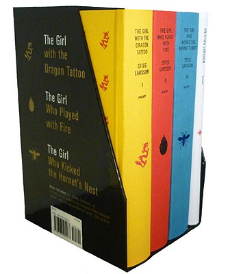 Stieg Larsson's Millennium Trilogy Deluxe Box Set: The Girl with the Dragon Tattoo, the Girl Who Played with Fire, the Girl Who Kicked the Hornet's Nest, Plus on Stieg Larsson - Larsson, Stieg