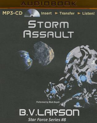 Storm Assault - Larson, B V, and Boyett, Mark (Read by)