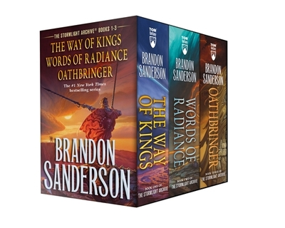 Stormlight Archive MM Boxed Set I, Books 1-3: The Way of Kings, Words of Radiance, Oathbringer - Sanderson, Brandon